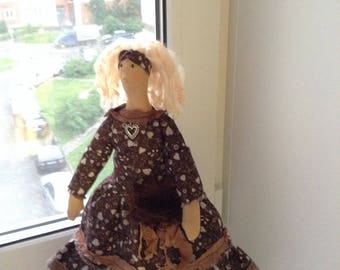 Tilda Doll Textile Doll Handnade doll Tilda Tilda doll Marianna Rag Doll