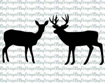 Hunting svg bundle, buck svg, doe svg, deer svg, hunting season svg, woodland creature svg, hunting cut files, silhouette cut files, cricut