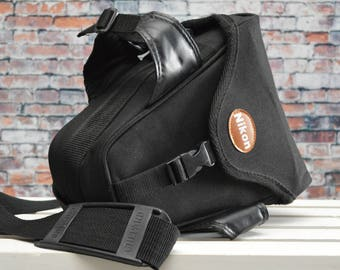 Vintage Nikon Holster Style Camera Semi Soft Carrying Case