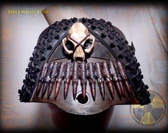 Post apocalyptic shoulder pad - wasteland soldier - warrior shoulder pad