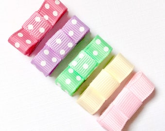 Baby hair clips, baby hair bows, No slip hair clips, Toddler hair clips, Toddler hair bows, girl hair clips, hair bows