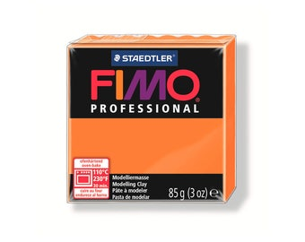 Polymer Fimo Pro 85 g - Orange No. 4