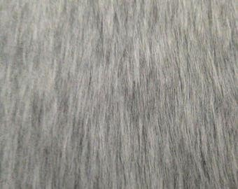 Faux Fur Fabric ASH GREY