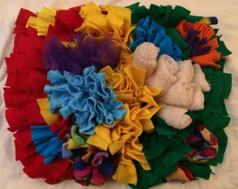 "Large Level 3 Snuffle Mat (15""x18"") - Most challenging for dogs."
