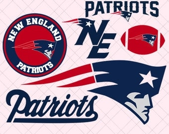 New England Patriots Svg/ New England Patriots Cut File/ New England Patriots Svg Cut Files/ New England Patriots Clipart/ New England