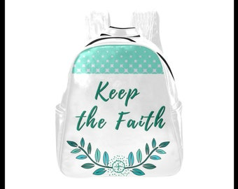 Keep the Faith Multi-Pocket Backpack