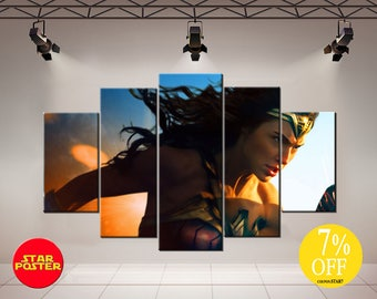 Wonder Woman, Wonder Woman canvas, DC canvas, Wonder Woman art, DC comics wall art, Wonder Woman print, DC comics art, Wonder Woman artwork