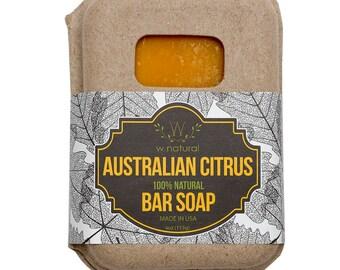 All Natural Handmade Australian Citrus Soap