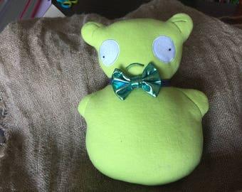 Kuchi Kopi nightlight with bow tie plush doll