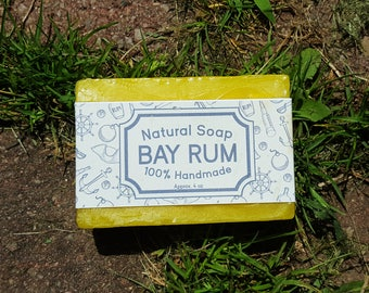 Bay Rum | Natural Bar Soap