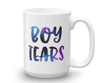 Boy Tears Galaxy Coffee Mug   Galaxy Coffee Mug   Boy Tears Coffee Mug   Cute Coffee Mug   Funny Coffee Mug   BFF Gift   Gifts For Her