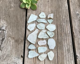 Safety White SEA GLASS Collection