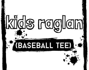 Kids Raglan tee