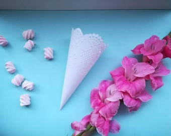 Wedding confetti cones for confetti Petal cones for confetti Wedding petal cones Confetti cones wedding Paper cones for confetti Cones Baby