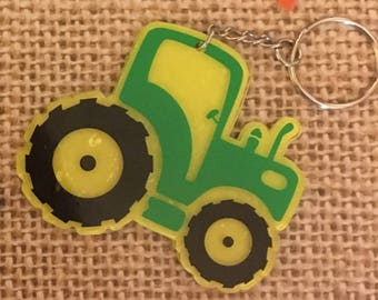 Custom Tractor Keychains