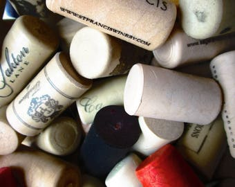 100 Plastic Wine Corks DIY Crafts