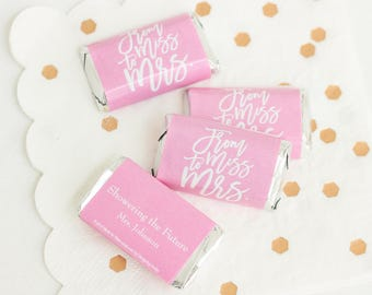 Personalized Wedding Hershey Miniature Favors