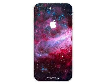 Galaxy iPhone Skin stars iPhone Sticker Case space iPhone Decal Nebula iPhone 7  plus iPhone 6 iPhone 6s 6 plus 5 5s SE PS013