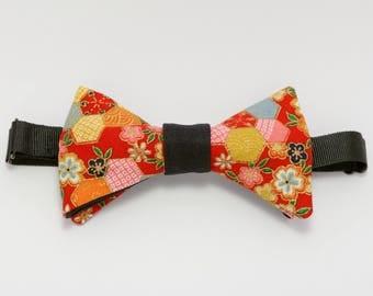 """Red bow tie """"Miyajima"""""""