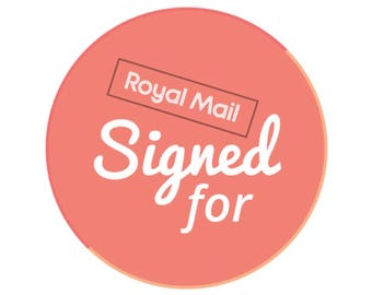 Royal Mail Signed for Delivery