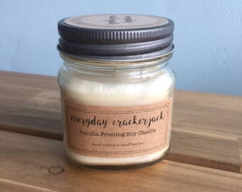 Vanilla Frosting Soy Candle - 8 oz.