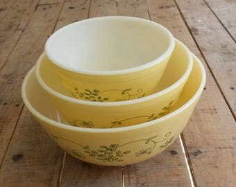 Set of 3 Shenandoah Mixing Bowls