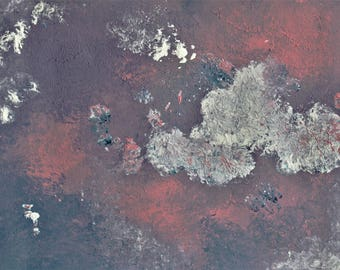 ORIGINAL---Empathy---Abstract Acrylic Painting on Paper