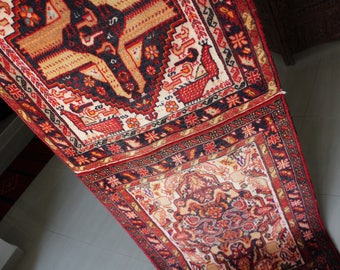 "Khava - Vintage Persian ""Twin"" Carpet"