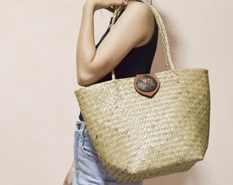 Weaving Seagrass shoulder bag , straw bag, straw purse