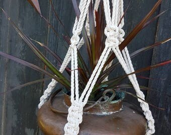 Macrame Plant Hanger NATURAL