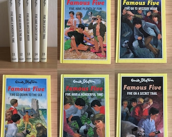 Various Famous Five Notebooks