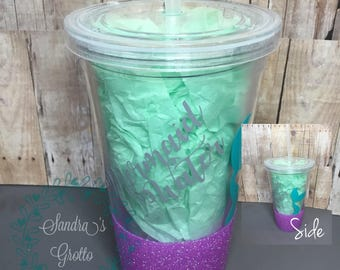 Mermaid Water Plastic Tumbler
