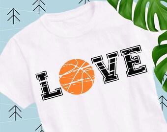 Basketball Distressed svg Basketball svg Basketball Love svg Ball Svg Sports svg Fan svg Team svg Cricut cut files Silhouette lfvs