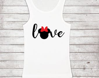 Love Minnie Disney Shirt, Love, Minnie Mouse, Mom Disney Shirt