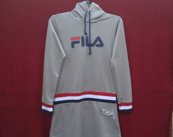 Very rare!!Vintage Fila hooded for women