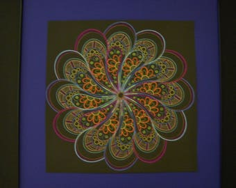 Kaleidoscope of colors    home wall decor