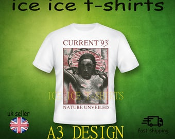 Current 93 - Nature Unveiled - industrial  - adult white t-shirt