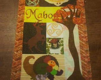 ACEO ATC Mabon Quilt Print signed