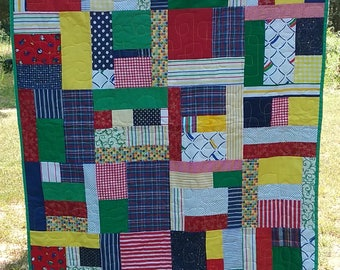 Primary Color Quilt