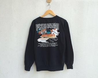 Vintage Piko Hawaii Sweatshirt Nice Design
