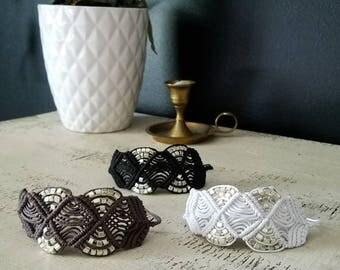 Macrame Cuffs - Macrame Cuff Bracelet - Boho Jewelry - Bohemian Jewelry - Boho Bracelet - Boho Bracelets - Macrame Bracelet - Cuff Jewelry