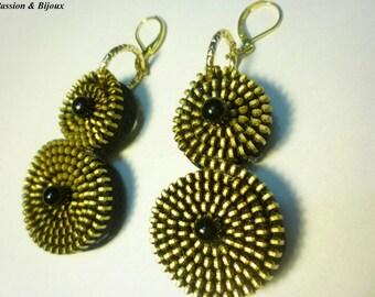 Hinged earrings
