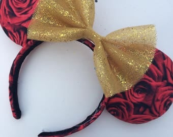 Rose Mickey ears