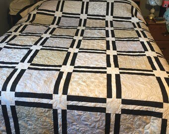 Downton Abbey Fabric Quilt
