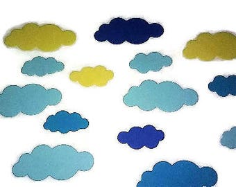 Cute Clouds, Popcorn, Tree Toppers Die Cuts, 30
