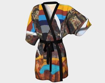 Mountain  Kimono Robe