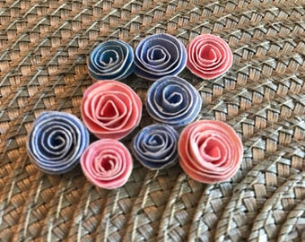 Confetti Rolled Paper Flowers