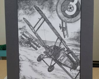 Dawn of 3rd Air Force Ready-To-Frame Matted Poster Print
