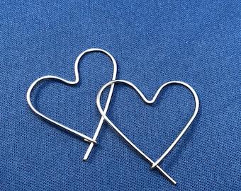 Heart Wire Hoop