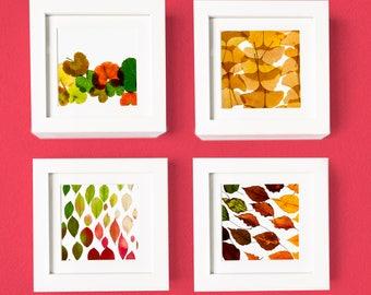 Fall Leaf Series - Set of 4 prints
